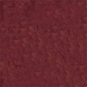 Solid Mulberry Red 72807-RF Velvet Upholstery Fabric by Richtex Home