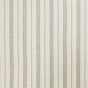 Stripe 72974-RF Lemon Zest Drapery Fabric by Richtex Home