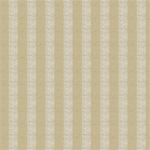 Vertical Metallic Stripe 72982-RF Flax Drapery Fabric by Richtex Home