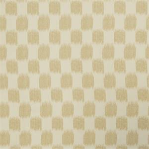 Ikat Squares 72976-RF Cashew Drapery Fabric by Richtex Home