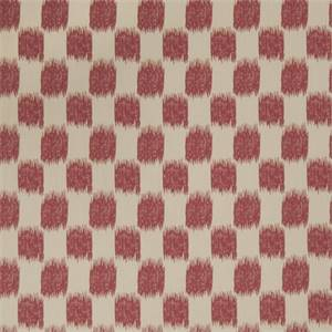 Ikat Squares 72976-RF Redbud Drapery Fabric by Richtex Home
