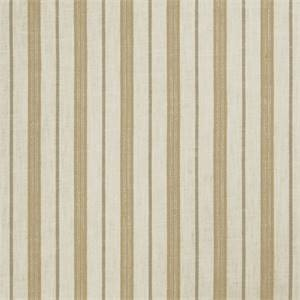 Stripe 72974-RF Cashew Drapery Fabric by Richtex Home