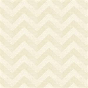 Large Metallic Chevron Stripe 44689-RF Gold Drapery Fabric by Richtex Home