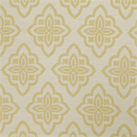 Large Floral Diamond 72980-RF Lemon Zest Upholstery Fabric by Richtex Home