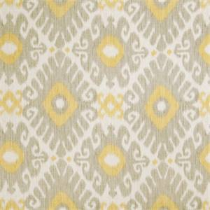 Ikat Floral 72464-RF Dove Gray Drapery Fabric by Richtex Home