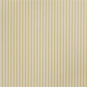 Ticking Stripe 73009-RF Lemon Zest Cotton Drapery Fabric by Richtex Home