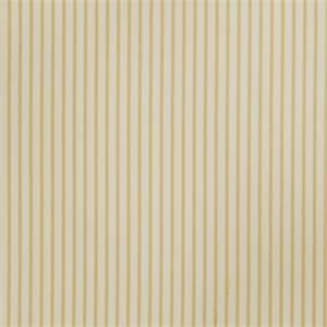 Ticking Stripe 73009-RF Lemon Zest Cotton Drapery Fabric by Richtex Home