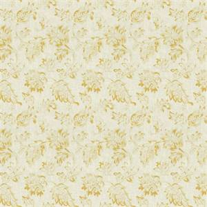 Large Floral 72995-RF Lemon Zest Drapery Fabric by Richtex Home