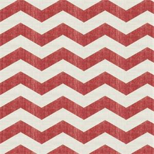 Large Chevron Stripe 44447-RF Redbud Drapery Fabric by Richtex Home