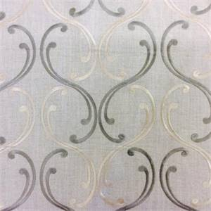 Bequest Opal Geometric Drapery Fabric By Swavelle