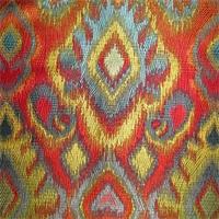 Sagamore Fiesta Woven Ikat Jacquard Upholstery Fabric