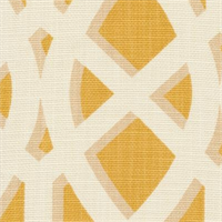 Elton Yolk Contemporary Geometric Design Drapery Fabric