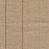 Olympic Stripe Flax/Plum Linen Upholstery Fabric