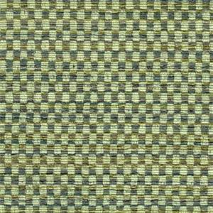 Chessboard Teal Tweedy Basketweave Look Woven Upholstery Fabric