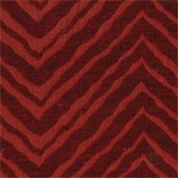 Hakan Persimmon Chenille Zig Zag Stripe Upholstery Fabric by Swavelle Mill Creek