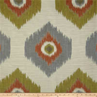 Del Ray Tropical Ikat Design Drapery Fabric by Swavelle Mill Creek