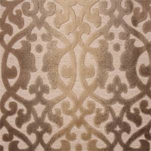 Ironworks Sandstone Gray Cut Chenille Upholstery Fabric