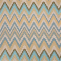 Sawtooth Agean Woven Zig Zag Stripe Upholstery Fabric