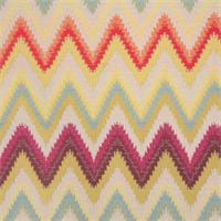 Sawtooth Kaleidoscope Woven Zig Zag Stripe Upholstery Fabric