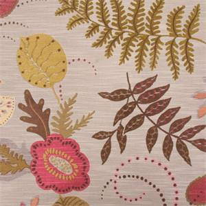 Frankly Botanical Multi Woven Floral Upholstery Fabric