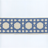 CC250/07 Blue/Cream Fret Tape Trim