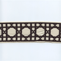 CC250/05 Black/Cream Fret Tape Trim