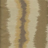 Chaplin Sand Woven Ikat Stripe Upholstery Fabric