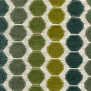 Beekeeper Everglades Green Chenille Upholstery Fabric