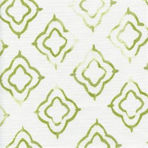 Keyhole Kiwi Weathered Cotton Drapery Fabric