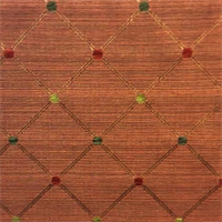 Objective Spice Diamond and Dot Design Upholstery Fabric by Swavelle Mill Creek