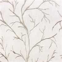 Gifford Dust Embroidered Tree Design Drapery Fabric by Swavelle Mill Creek