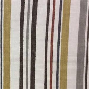 Filbert Retro Stripe Linen Drapery Fabric by Swavelle Mill Creek