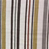 Filbert Retro Stripe Linen Drapery Fabric by Swavelle Mill Creek