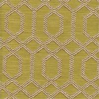Parquet Citron Geometric Upholstery Fabric