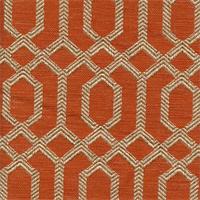 Parquet Sienna Geometric Upholstery Fabric