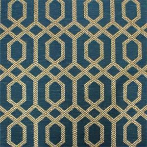 Parquet Slate Geometric Upholstery Fabric