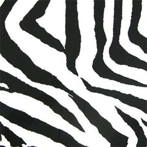 Zebra Black/White by Premier Prints - Drapery Fabric  30 Yard bolt