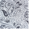 Paisley Blue by Premier Prints - Drapery Fabric 30 Yard bolt