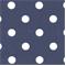 Polka Dots Blue/White by Premier Prints - Drapery Fabric 30 Yard bolt