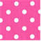 Polka Dots Candy Pink/White by Premier Prints - Drapery Fabric 30 Yard bolt