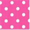 Polka Dots Candy Pink/White by Premier Prints - Drapery Fabric 30 Yard bolt