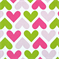 IHeartU Chartreuse/Candy Pink by Premier Prints - Drapery Fabric 30 Yard bolt