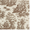 Jamestown Chocolate/Natural by Premier Prints - Drapery Fabric 30 Yard bolt