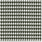 Houndstooth Black White by Premier Prints Swatch