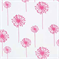 Dandelion White Candy Pink by Premier Prints - Drapery Fabric - Order a Swatch