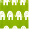 Ele Chartreuse White by Premier Prints - Drapery Fabric - Order a Swatch