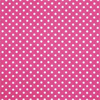 Dottie Candy Pink/White by Premier Prints - Drapery Fabric 30 Yard bolt