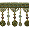 IR4474 - SGM - Preshea Decorative Bead Trim - Sage Multi - Order a Swatch