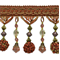 IR4474 - CNM - Preshea Decorative Bead Trim - Cinnamon Multi - Order a Swatch