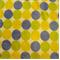 Random Multi Polka Dots Sage/Blue/Yellow - Order a Swatch